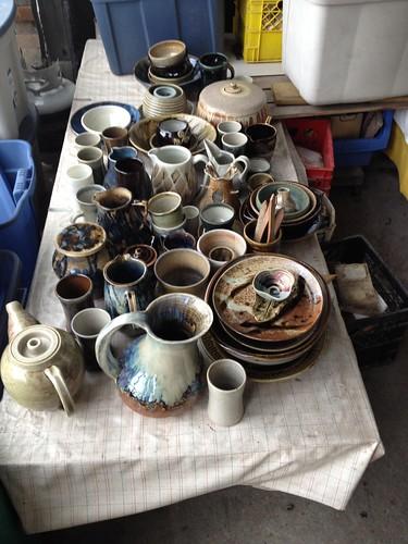 pots fired in the wood kiln 2