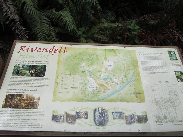 Mapa de Rivendell en el Kaioke regional Park