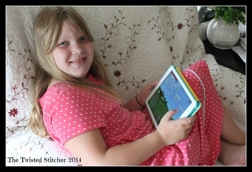 Ellie and iPad Air