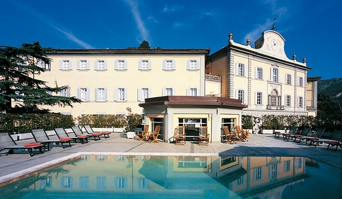 Bagni di Pisa, piscina in terrazza