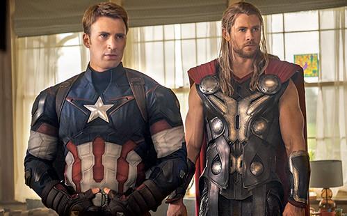 140717(1) - 英雄累了…「快銀」飆了!2015年電影《Avengers: Age Of Ultron》(復仇者聯盟2:奧創紀元)公開8張劇照&故事大意! 2
