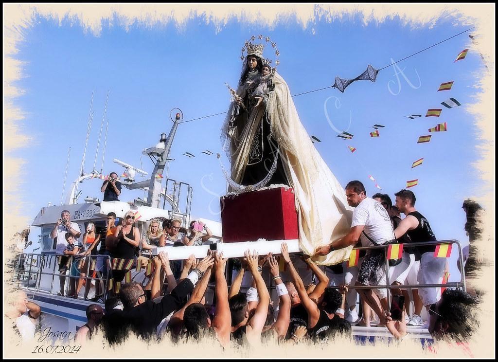Hermandad Virgen del Carmen Pescaderia: Procesión 2014
