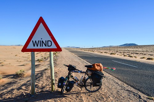 Beware of the wind near Lüderitz