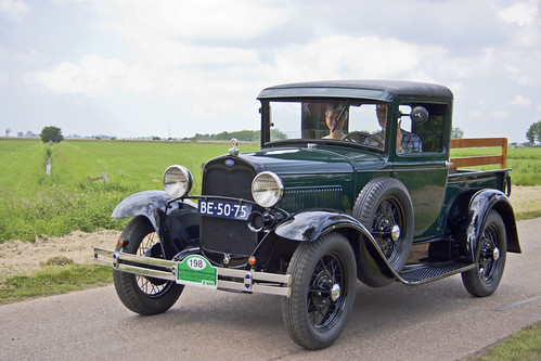 Ford Model A Type 82B Closed Cab Pick-Up 1930 (8265)