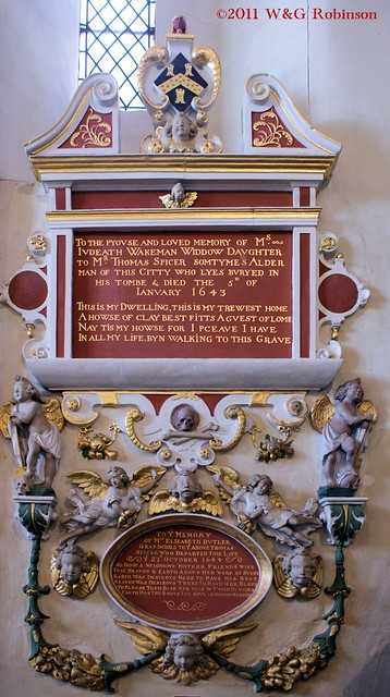 Monument to the Wakeman family, 1643-4