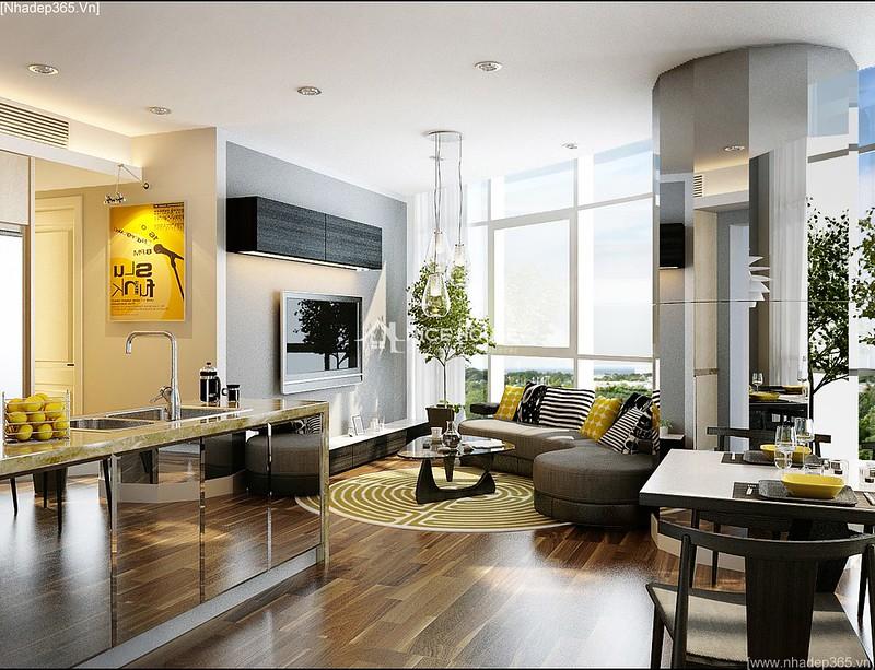 Thiết kế nội thất căn hộ Euro MultiComplex Arpatment_1