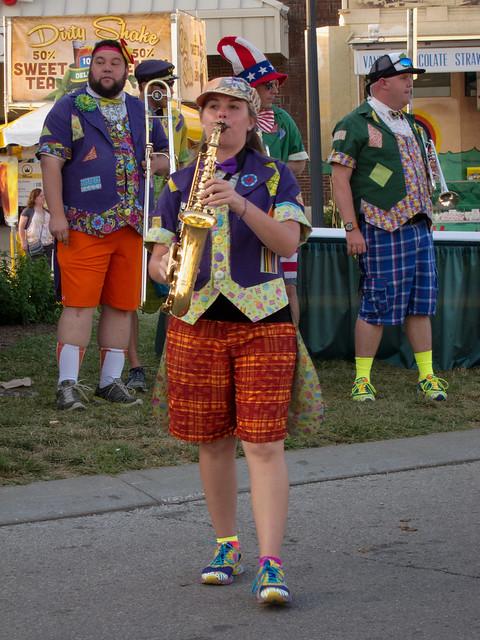 Saxophoning