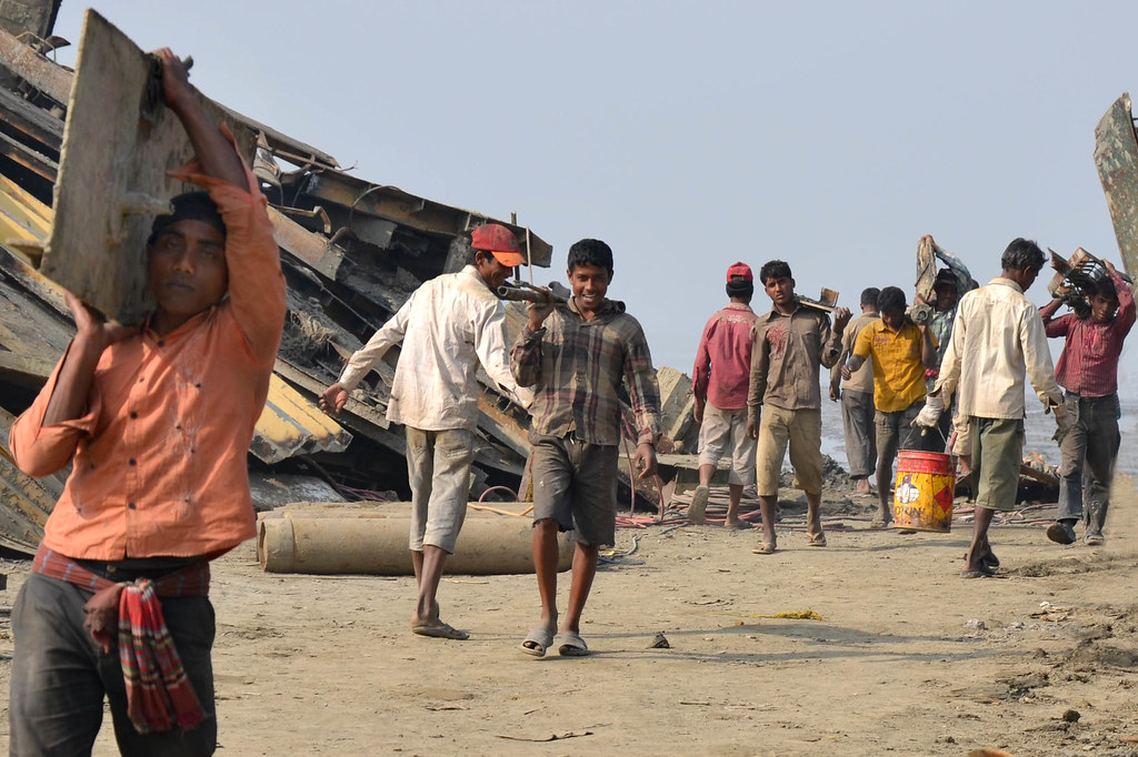 Bangladesh - Chittagong Ship-breaking