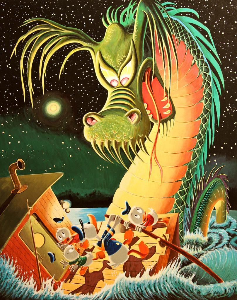 Carl Barks - Terror of the River, 1974