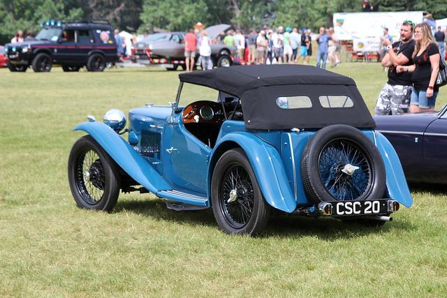 1938 MG TA rear