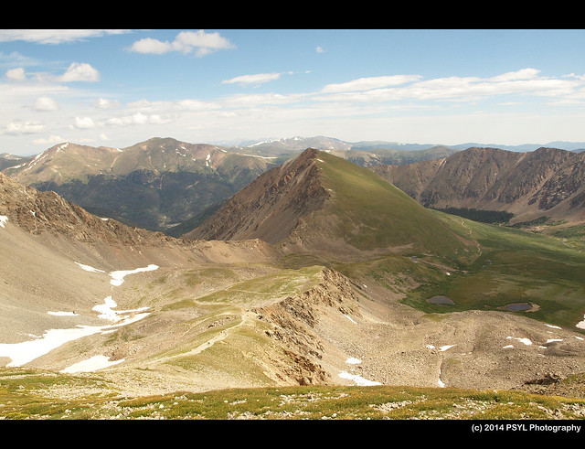 View from Grays Peak