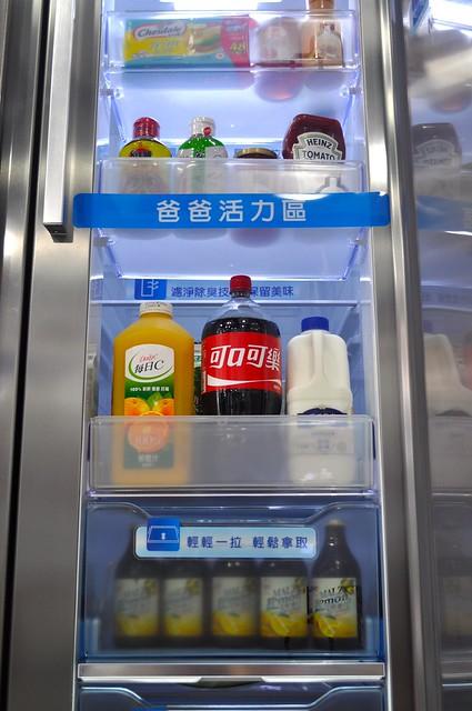三星愛現門電冰箱