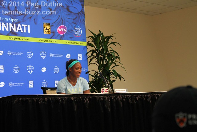 Sloane Stephens  2014 Western & Southern Open: press conferences pictures 14768727850 32f9ed53f1 z