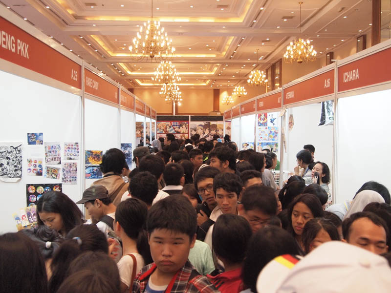 Creator Booth AFAID 2014