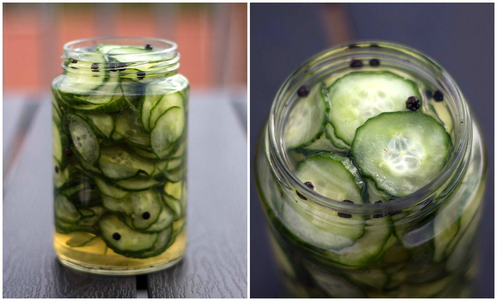 Sliced Cucumber Pickle