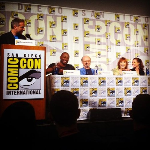 resurrection Comic-Con panel