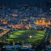 Grand palace at twilight in Bangkok by anekphoto
