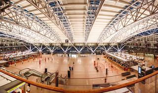 Terminal 1 der Hamburg Airport