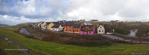 doolin cottage panoramica irlanda