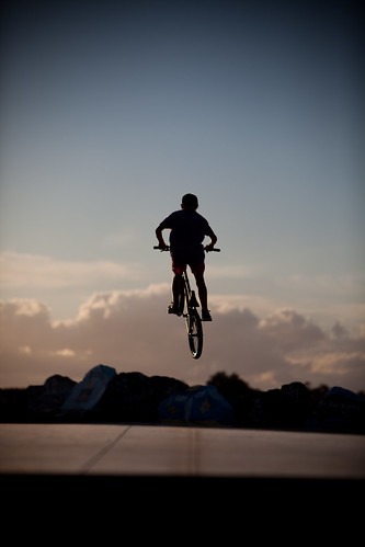 park boy sunset beach up bike silhouette clouds town jumping bmx time air riding skate nsw push macquarie airborne rotary