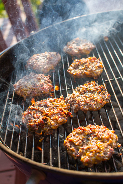 Burgers on the Kettle