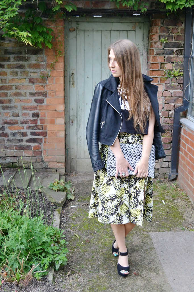 Primark pineapple skirt 4