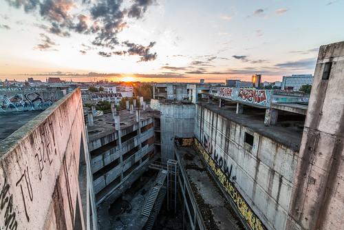 urban sun abandoned architecture sunrise concrete dawn nikon tokina forsaken wroclaw abandonedbuildings urbex urbanexplore architecturephotos nikond800 twittertuesday tokina1628