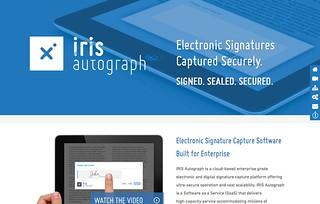 Iris Autograph
