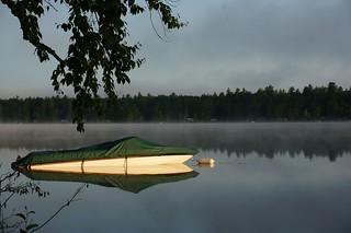 Sunrise on Fish Creek Pond