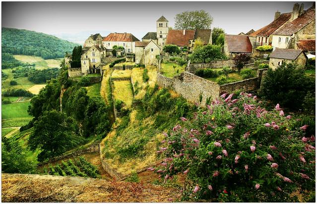 Château-Chalon, Jura, Franche-Comté, France