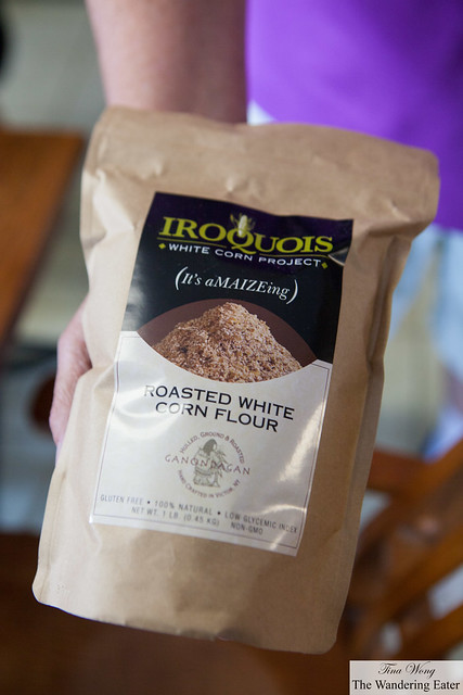 Iroquois White Corn Project's Roasted White Corn Flour
