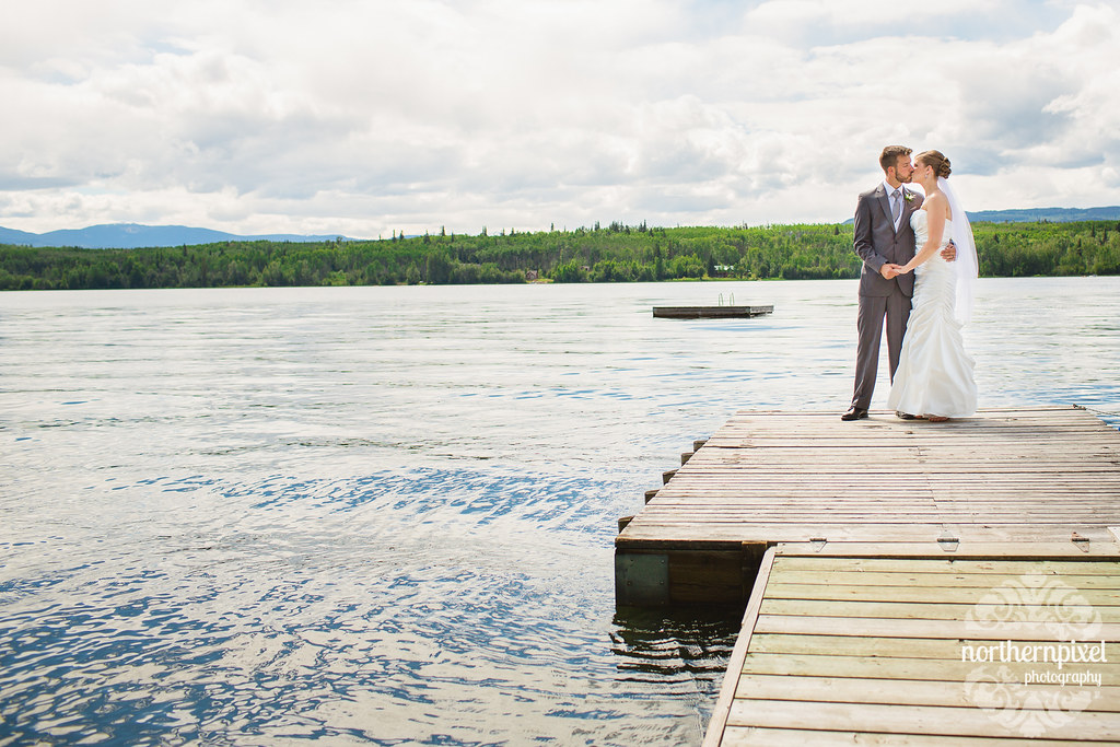 Tyhee Lake Wedding Photos