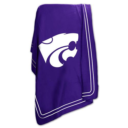 Kansas State Wildcats NCAA Classic Fleece Throw