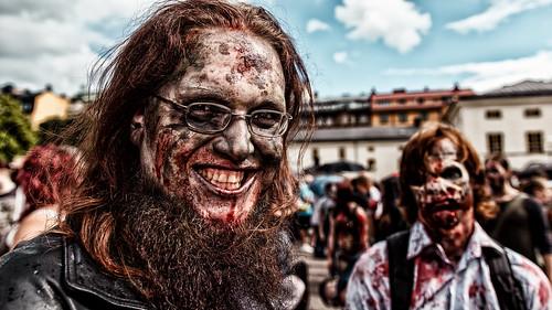Stockholm Zombie Walk 2014