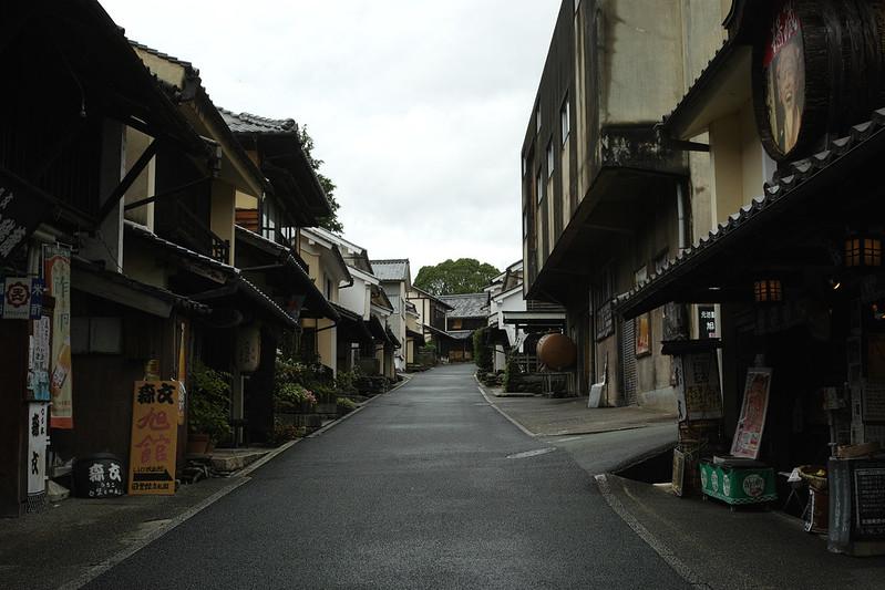 内子町の街並み