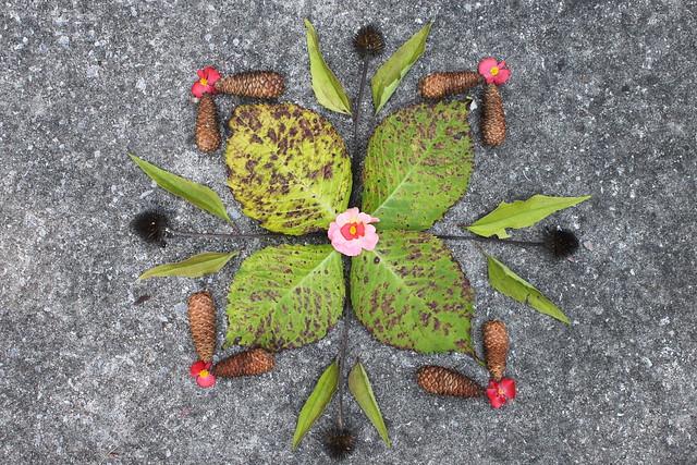 Four-leaf Mandala