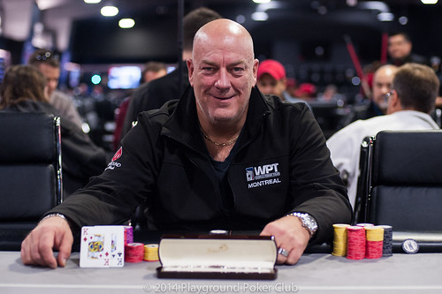 Event 2 Winner: Sylvain Cote