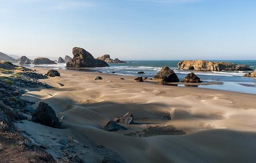 oregon waves dunes pacificocean