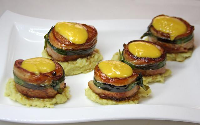 Solomillo con salsa de mango  (39)