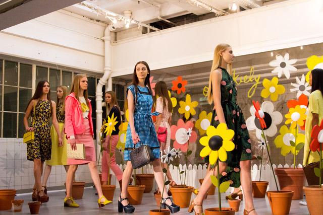Orla Kiely SS15 London Fashion Week presentation