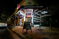 Chippendale Cellars night