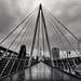 Hungerford Bridge in the Rain