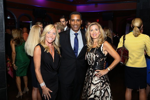 DC's Dancing Stars Executive Director Susannah Moss, House of Cards actor Lamont Easter and Event Chair Maria Coakley David