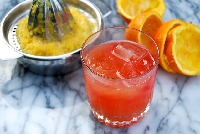 Campari & Orange Cocktail