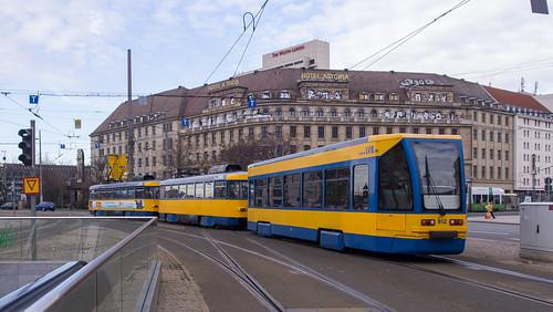 Leipzig Tram 912