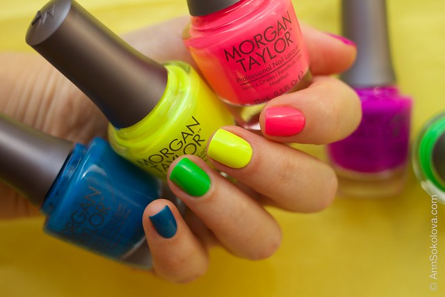 01 Morgan Taylor Neon Lights nails