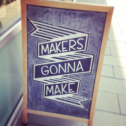 makers gonna make, yo