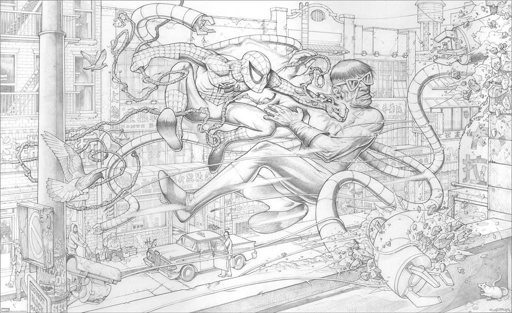 SpidermanSutfin_Pencil_web