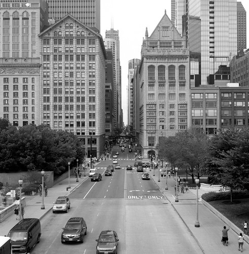 "Image titled ""Above the Road, Chicago."""
