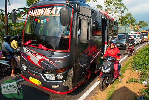Tarif dan rute bus umum dari Kota Wonosobo ke Dieng